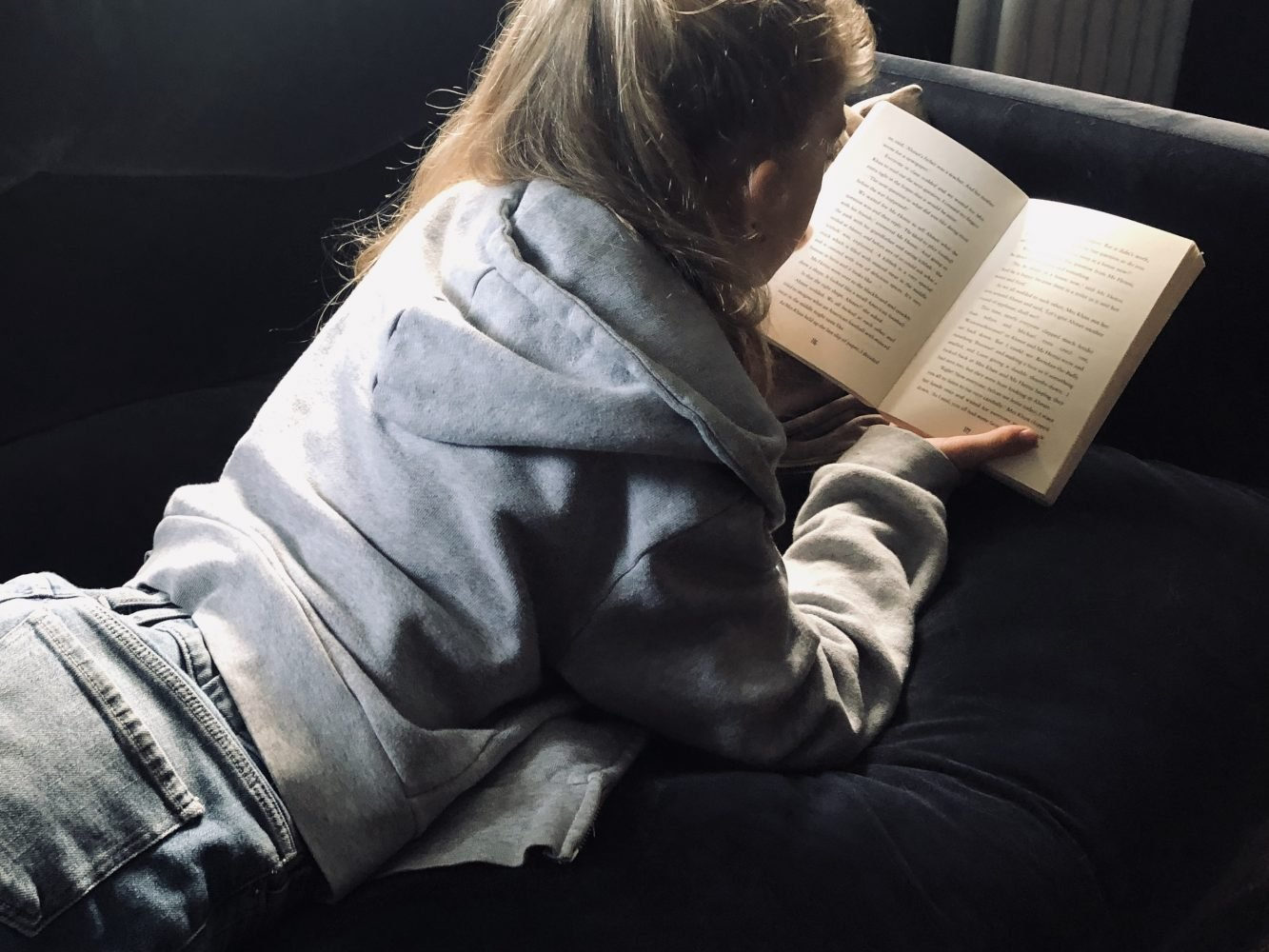 The wonderful distraction of books: Reading to support children