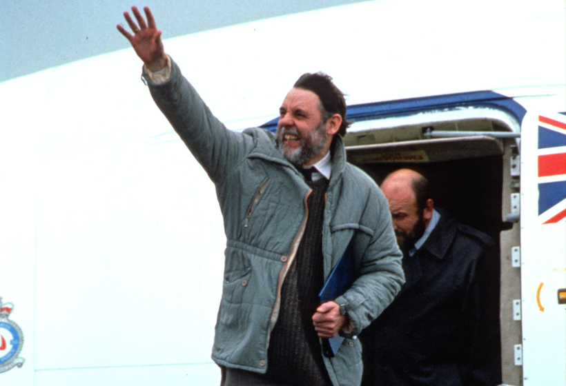 Thank you all! From Terry Waite CBE on the anniversary of his release